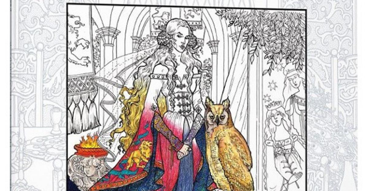 Urzeala tronurilor. Carte de colorat. Editie autorizata