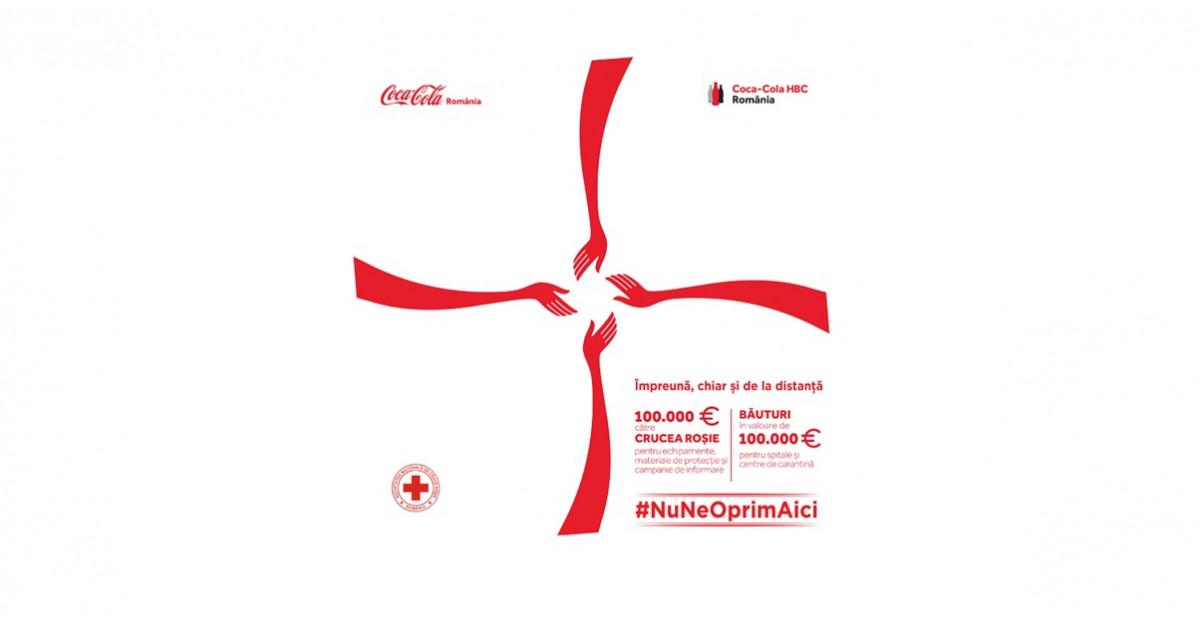 Sistemul Coca-Cola în Romania donează bani pentru echipamente medicale, precum și băuturi pentru spitale și centre de carantină