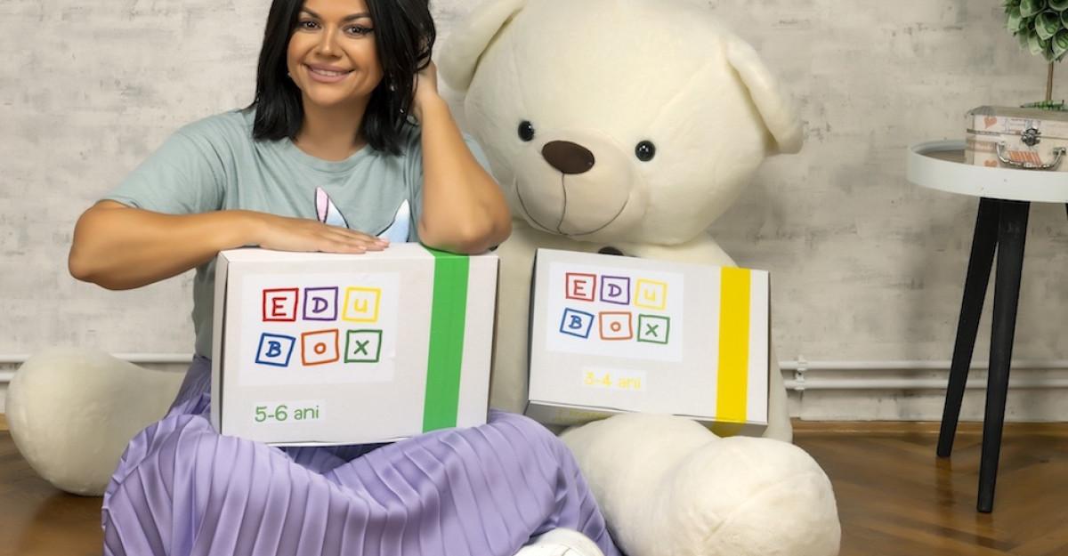 EDUBOX, educație pentru copiii mici de acasă