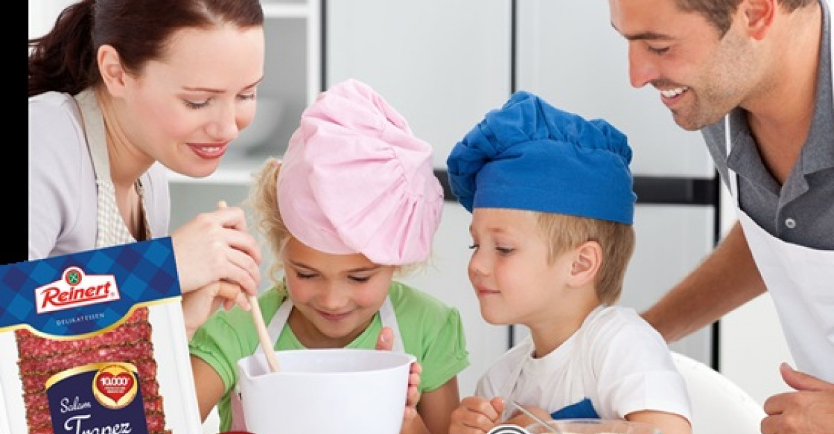 Reinert premiaza familiile inimoase in bucatarie!