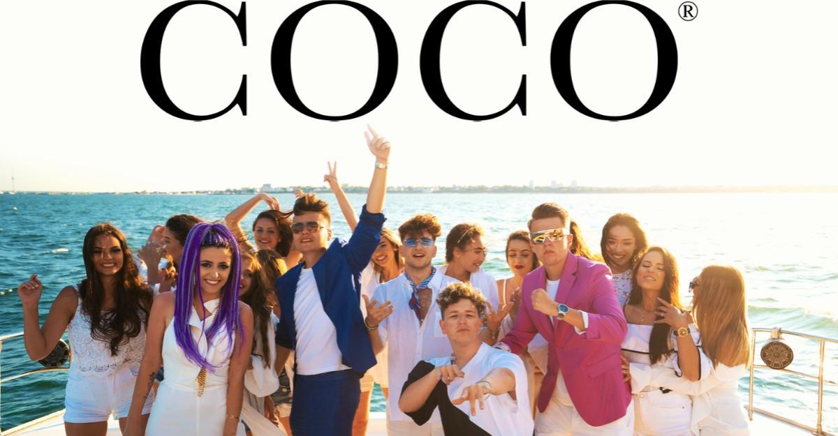 5GANG lansează COCO, o piesă de vară, cu un sound nou