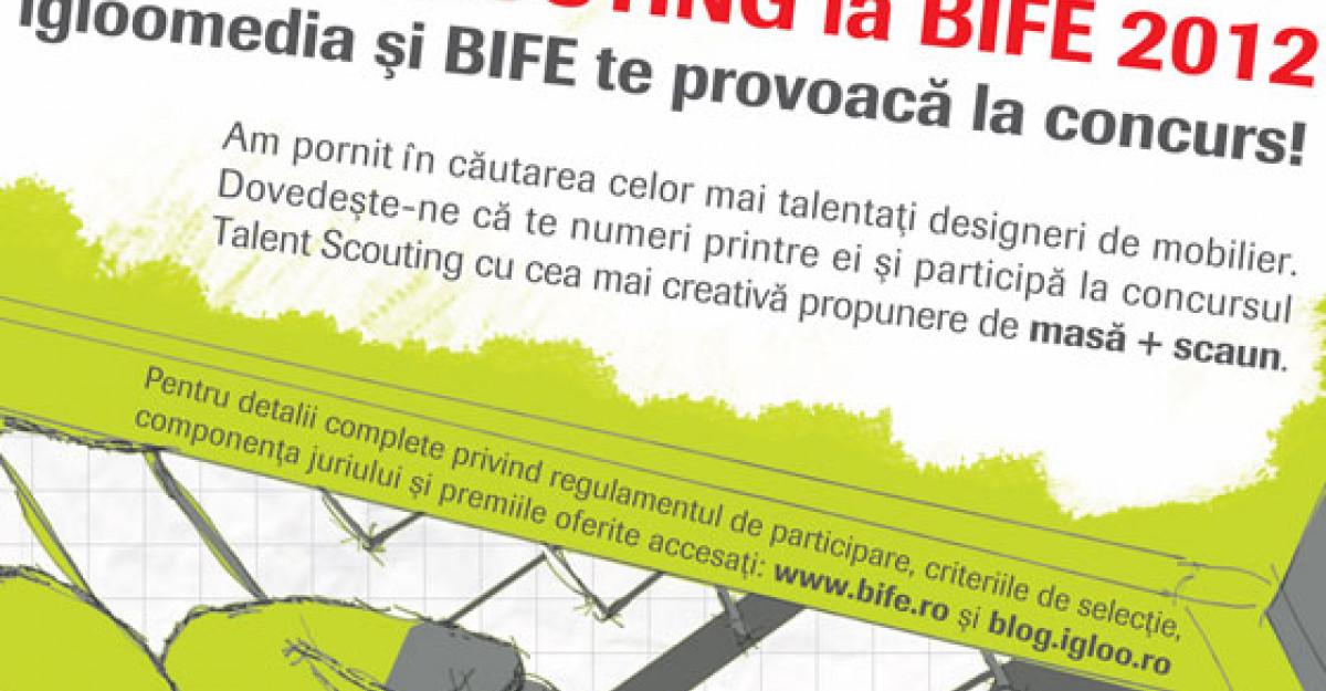 Concurs de design de mobilier: Talent Scouting