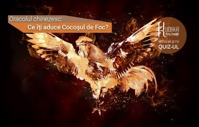 Oracolul chinezesc: Ce iti aduce Cocosul de Foc?