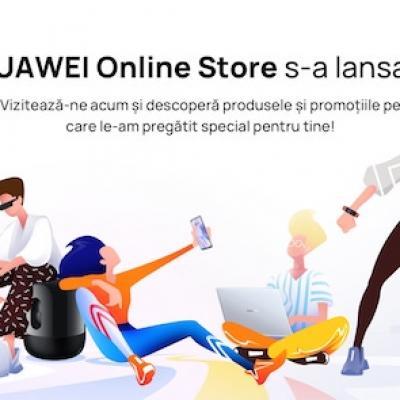S-a lansat noul magazin Huawei Online Store și vine cu vouchere de 6.000 lei, un HUAWEI Mate XS și multe alte beneficii
