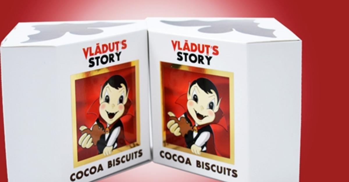 Descoperiti biscuitii naturali cu cacao de la Vladut's Story!