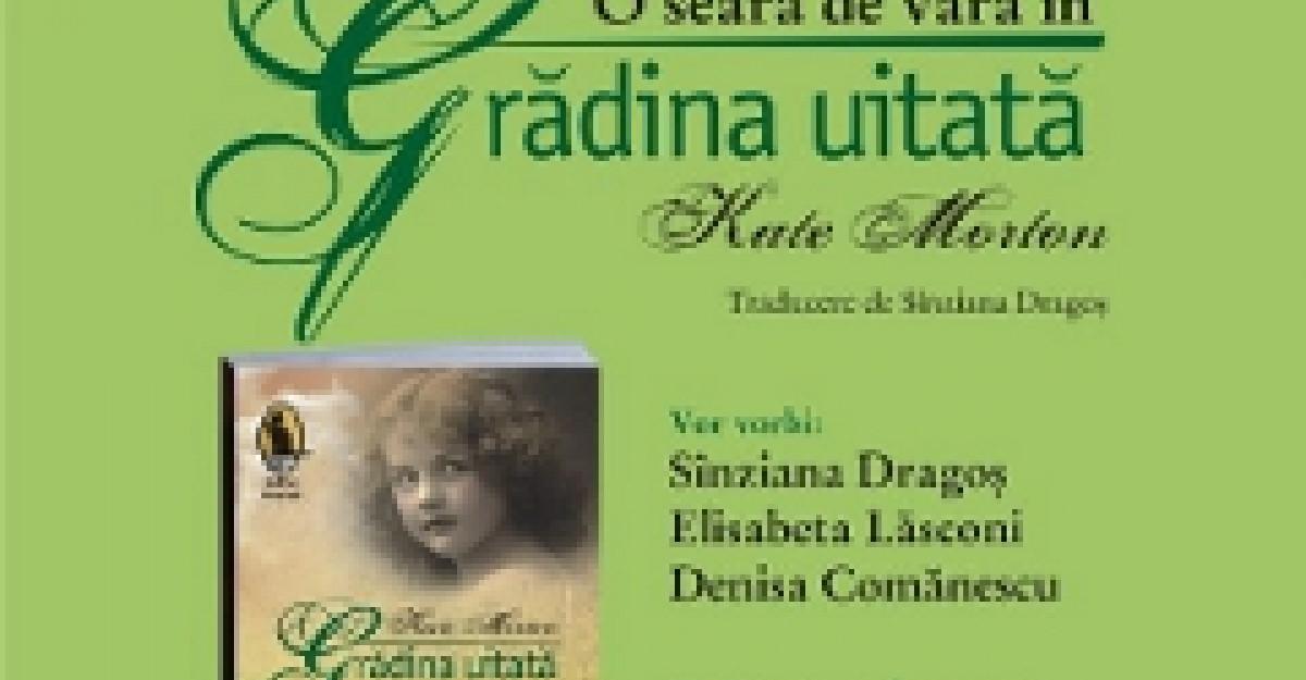 Lansare de carte Humanitas Fiction: O seara de vara in Gradina uitata