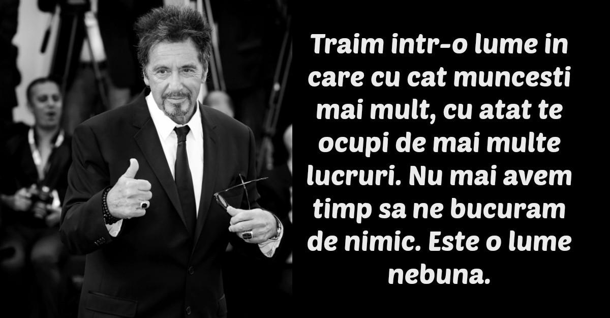 Cele mai frumoase citate ale lui Al Pacino