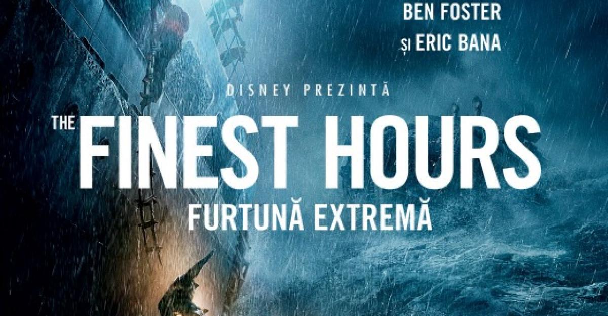 Infrunta The Finest Hours: Furtuna extrema, la cinema din 29 ianuarie