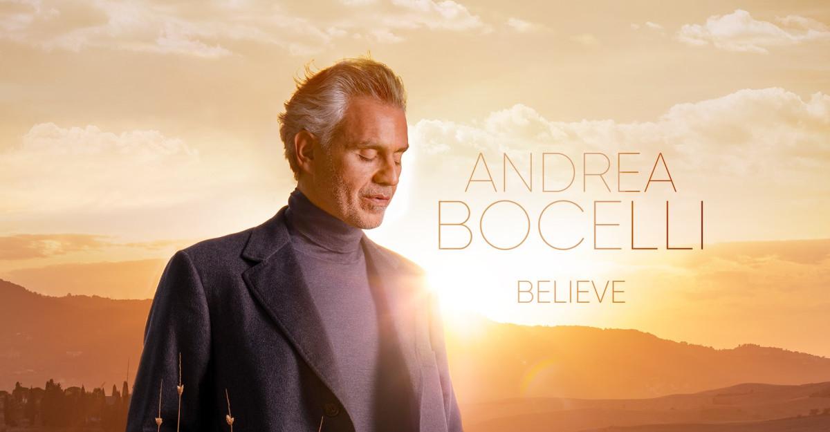 Andrea Bocelli lanseaza albumul Believe