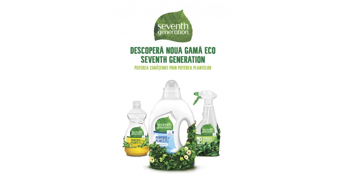Puterea curățeniei prin puterea plantelor Seventh Generation - un nou brand ecologic de home care