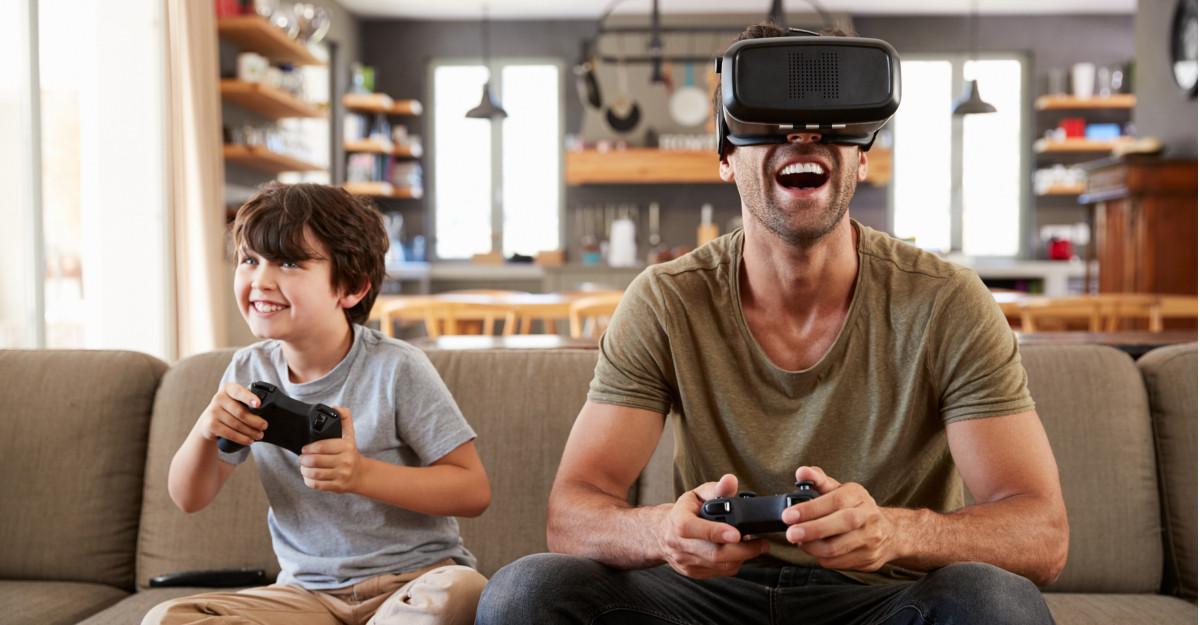 Familiile care se joacă mai mult sunt mai fericite