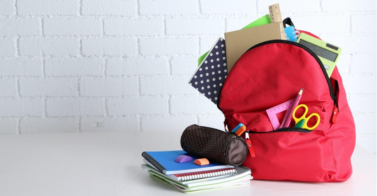 Ghiozdan echipat complet: pregatit de scoala de la A la Z