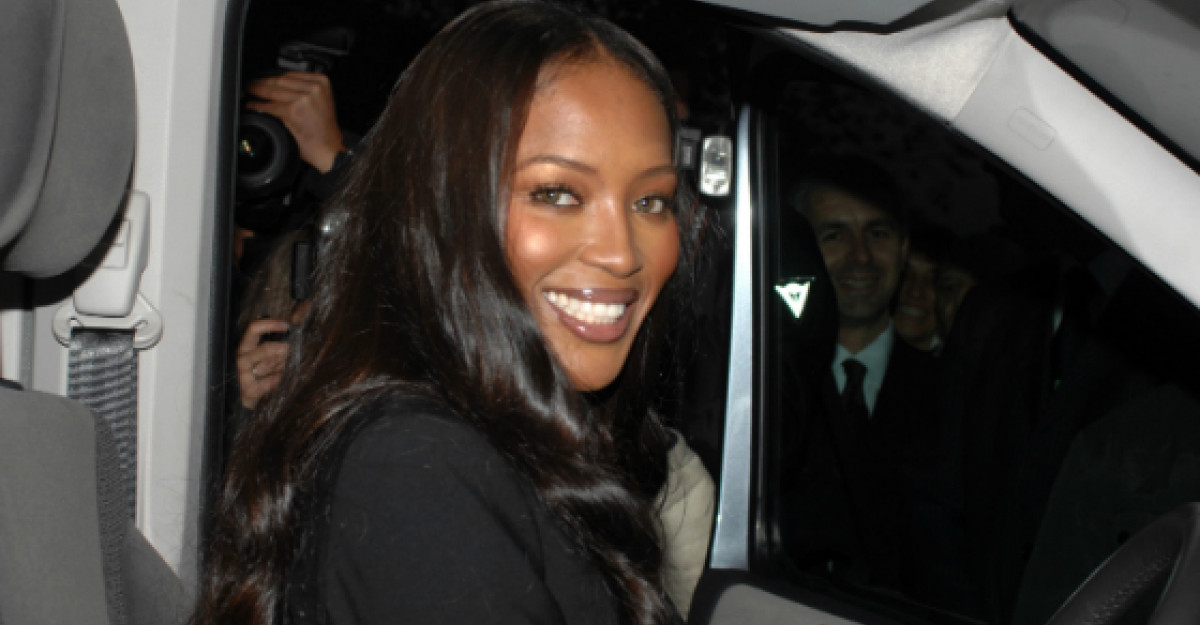 Naomi Campbell, probleme grave in Paris