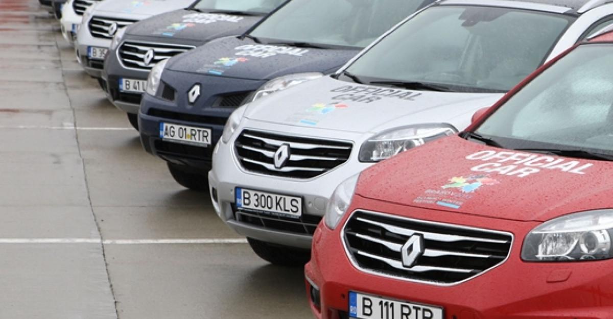 Renault pune la dispozitia FOTE 50 de autoturisme