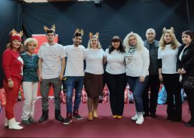 Spectacol de magie si daruri pentru copiii din 10 case de tip familial din Giurgiu
