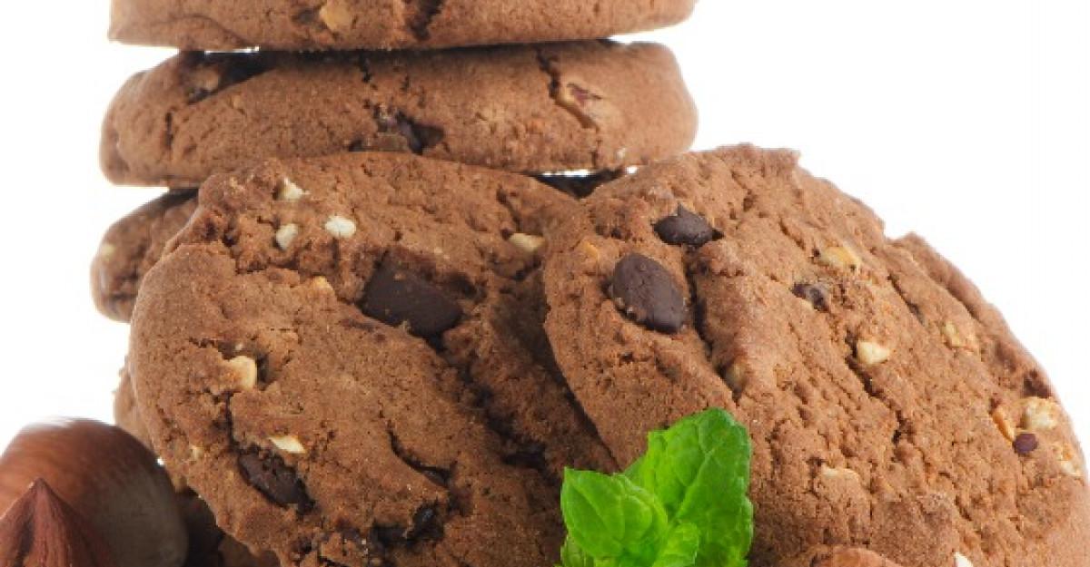Fursecuri fara gluten cu extra ciocolata