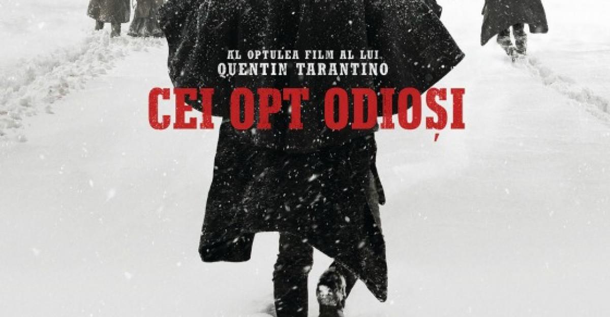 In iarna aceasta, infrunta-i pe Cei opt odiosi din cel de-al optulea film al lui Quentin Tarantino