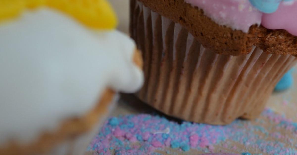 Cupcakes pentru masa de Paste