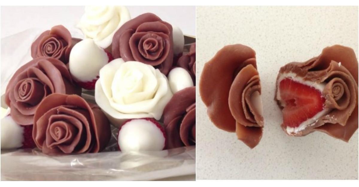 Video: Cum sa faci acesti minunati trandafiri de ciocolata in 4 minute?