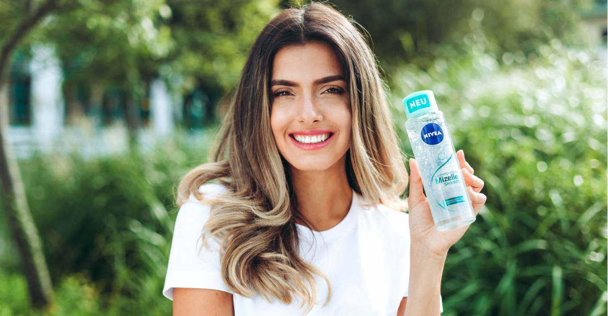 Păr fragil și scalp sensibil? Încearcă noile șampoane NIVEA Micellar