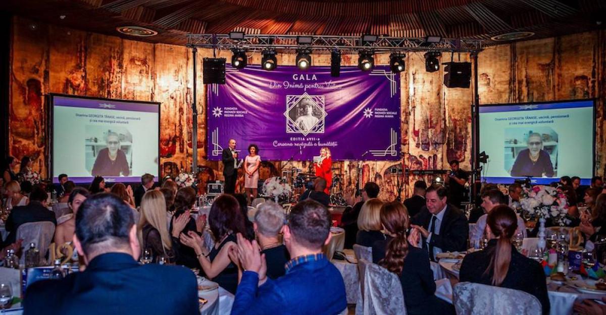 """""""Coroana nevăzută a bunătății"""" a strâns 184 000 euro pentru susținerea activitățiiFundației Inovații Sociale Regina Maria"""