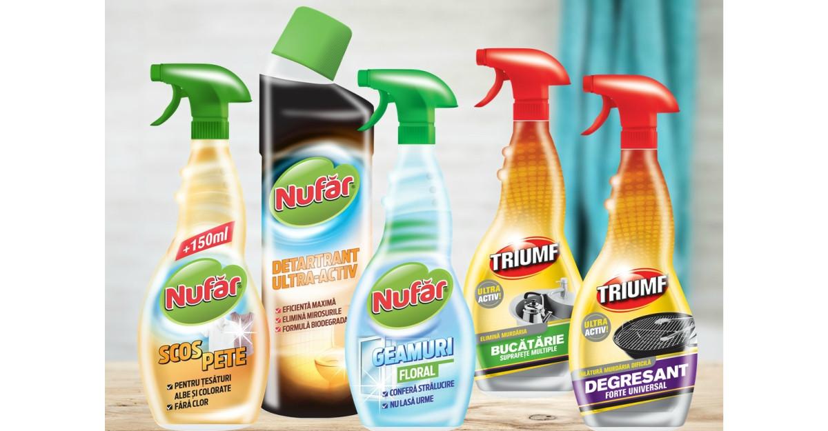 Farmec anunță creșterea vânzărilor pentru brandurile Nufăr şi Triumf
