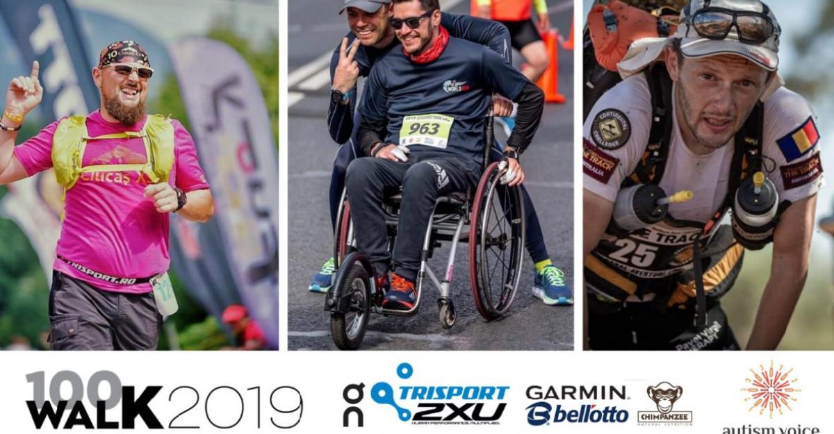 Memo, Daniel Osmanovici, Andrei Gligor și George Baltă vor parcurge 100 de km în mers pentru copiii din Asociația Autism Voice