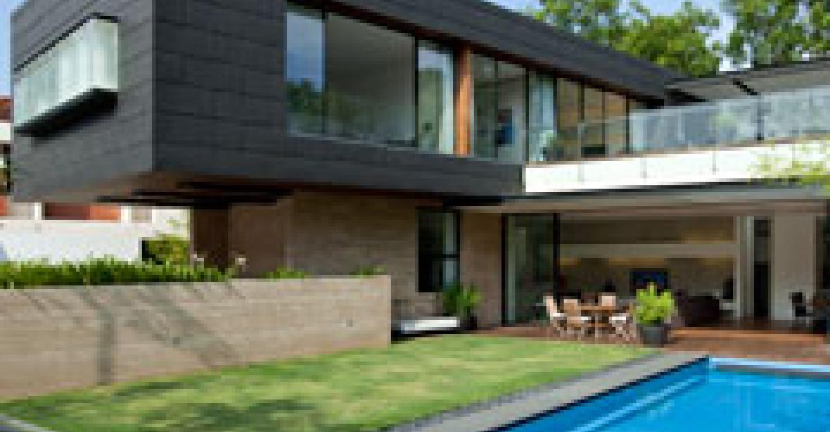 Casa contemporana din Singapore