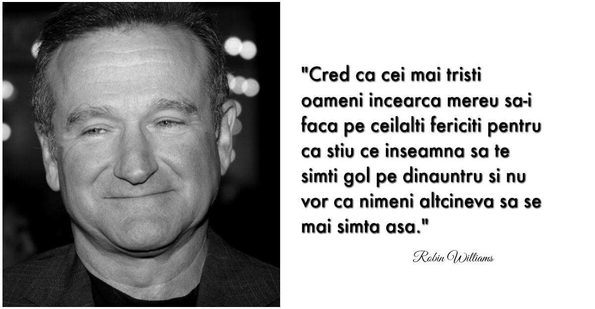 Aceste citate incredibile de Robin Williams te vor face sa iubesti viata si sa zambesti mai des