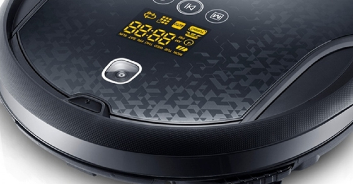 Samsung lanseaza noul model de aspirator-robot NaviBot CornerClean