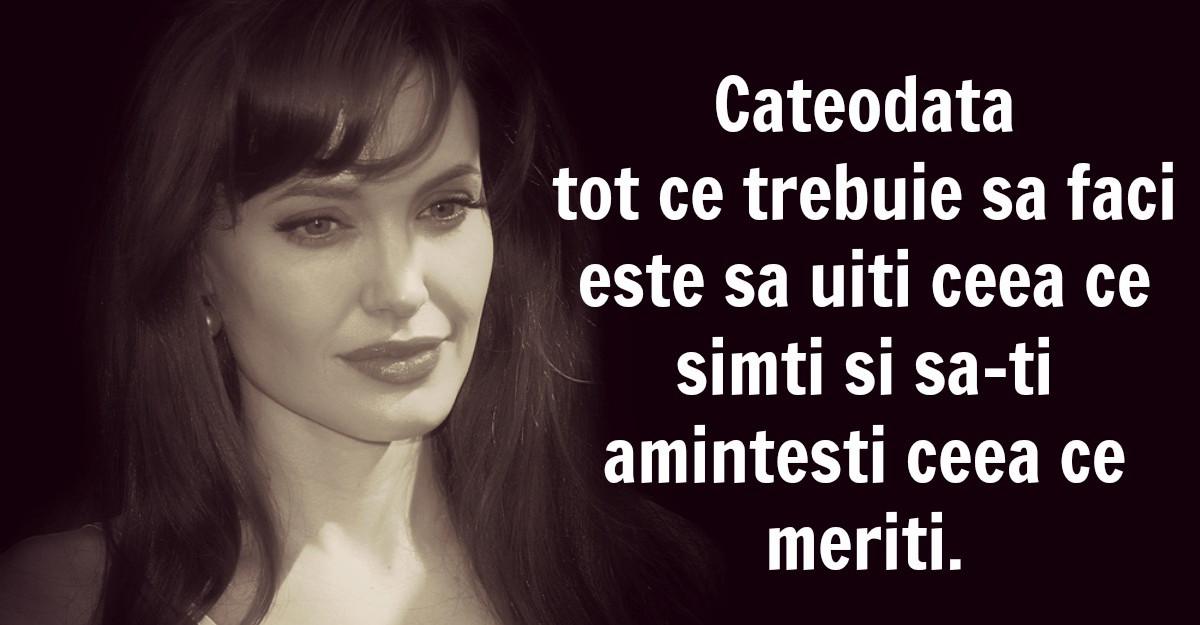 Cele mai frumoase citate ale Angelinei Jolie