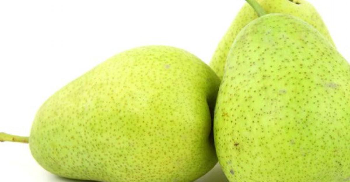 Beneficiile PERELOR: cunoscute ca primele fructe cultivate