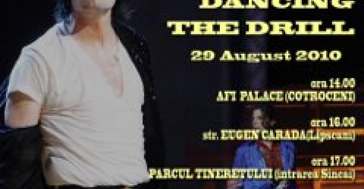 100 de tineri vor dansa The Drill in memoria lui MICHAEL JACKSON la AFI Palace Cotroceni Mega Fun