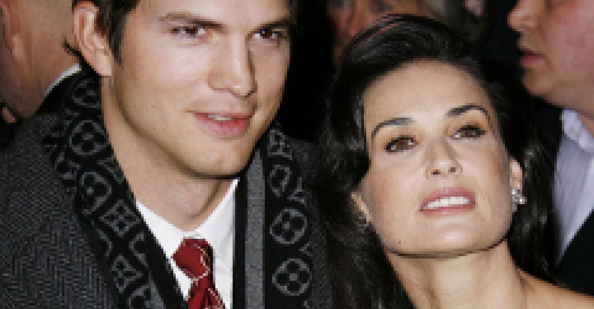 Amanunte picante: Amanta lui Ashton Kutcher rupe tacerea