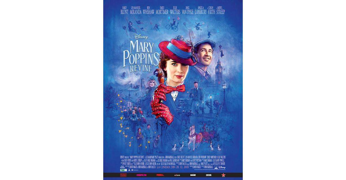 Mary Poppins Returns, Mary Poppins Revine, o poveste nouă despre optimism, dragoste și puterea vindecătoare a râsului
