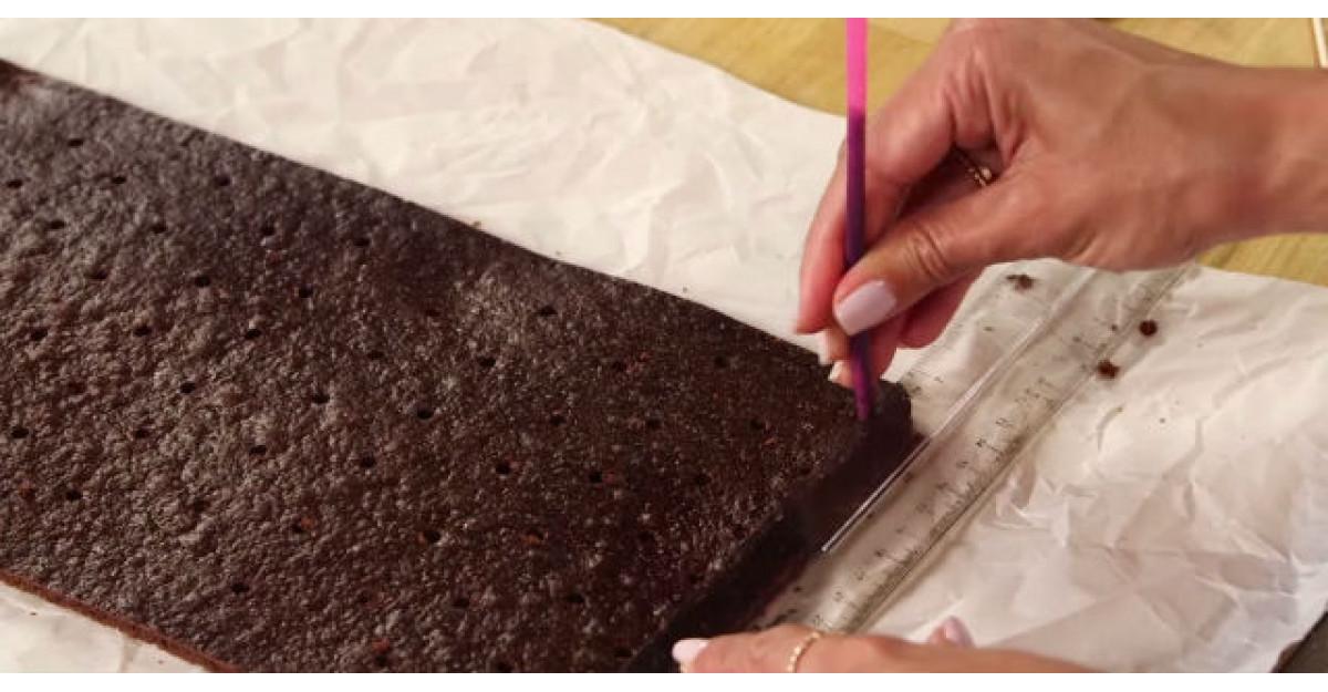 Video: Ia un pai si da cateva gauri in aceasta prajitura