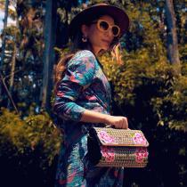 Rochii de vară cu imprimeu vegetal tropical și exotic: modele de rochii maxi