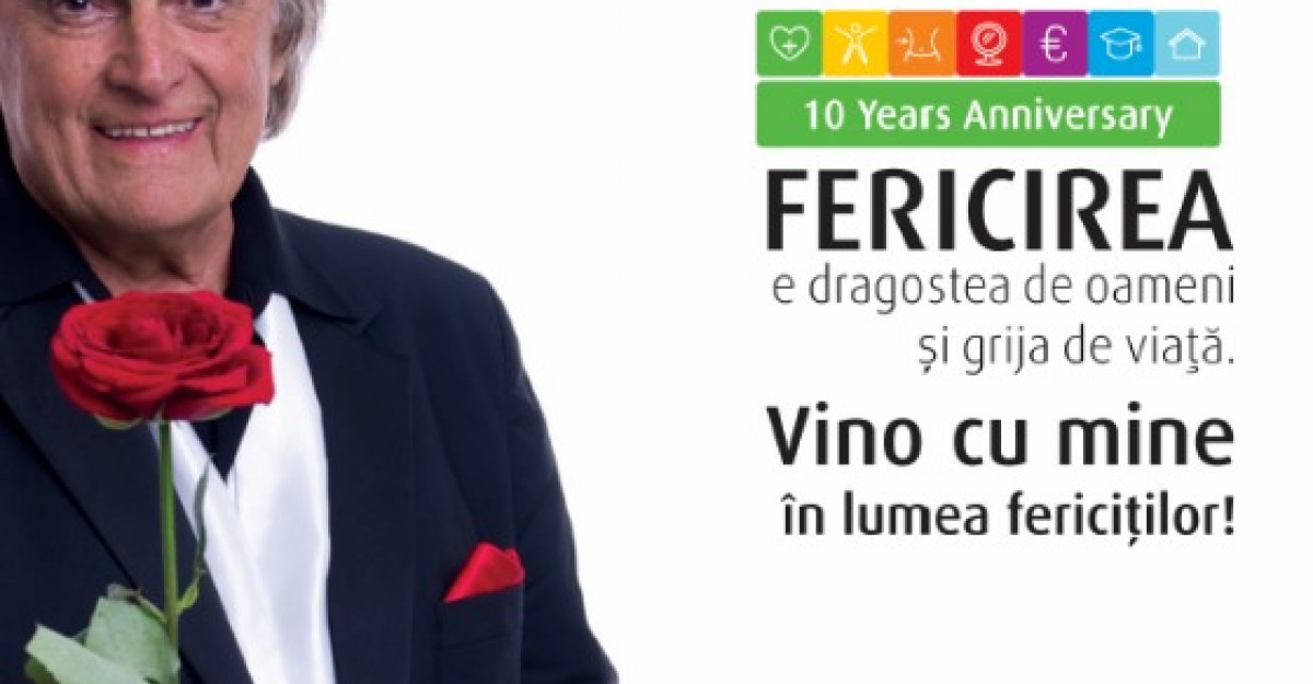 Life Care lanseaza noul catalog alaturi de Florin Piersic, ambasador al fericirii