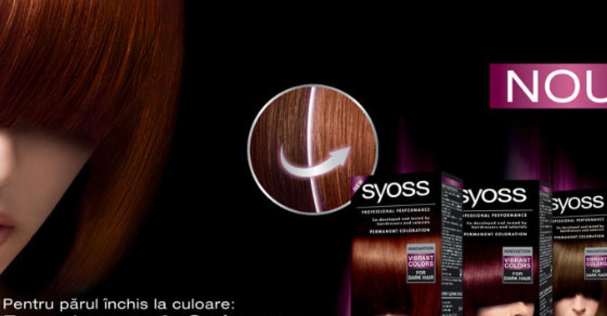 Inovatii profesionale de colorare si decolorare de la Syoss, special pentru parul inchis la culoare