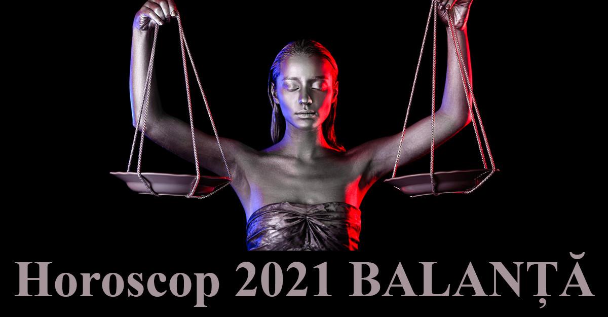 Horoscop 2021 Balanță: un an al abundenței și al regăsirii