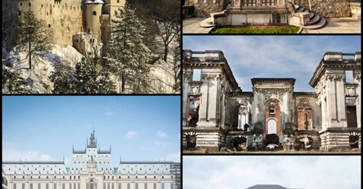 Top 10 cele mai frumoase palate si castele din Romania