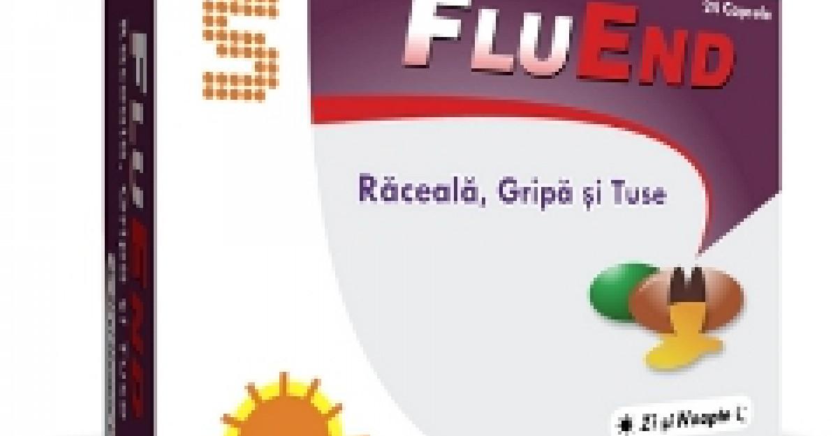 FluEnd - un produs sigur pentru oricine in combaterea racelii, gripei si a tusei