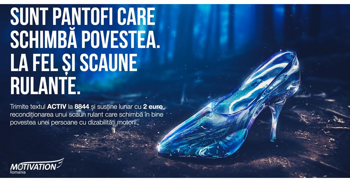 Fundația Motivation România lansează campania de donații prin SMS pentru Fondul Scaunelor Rulante