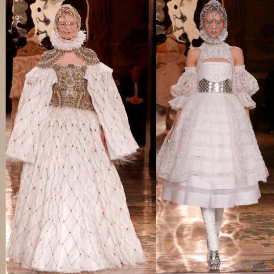 Moda inspirată de elemente monahale, ecleziastice și de papalitate