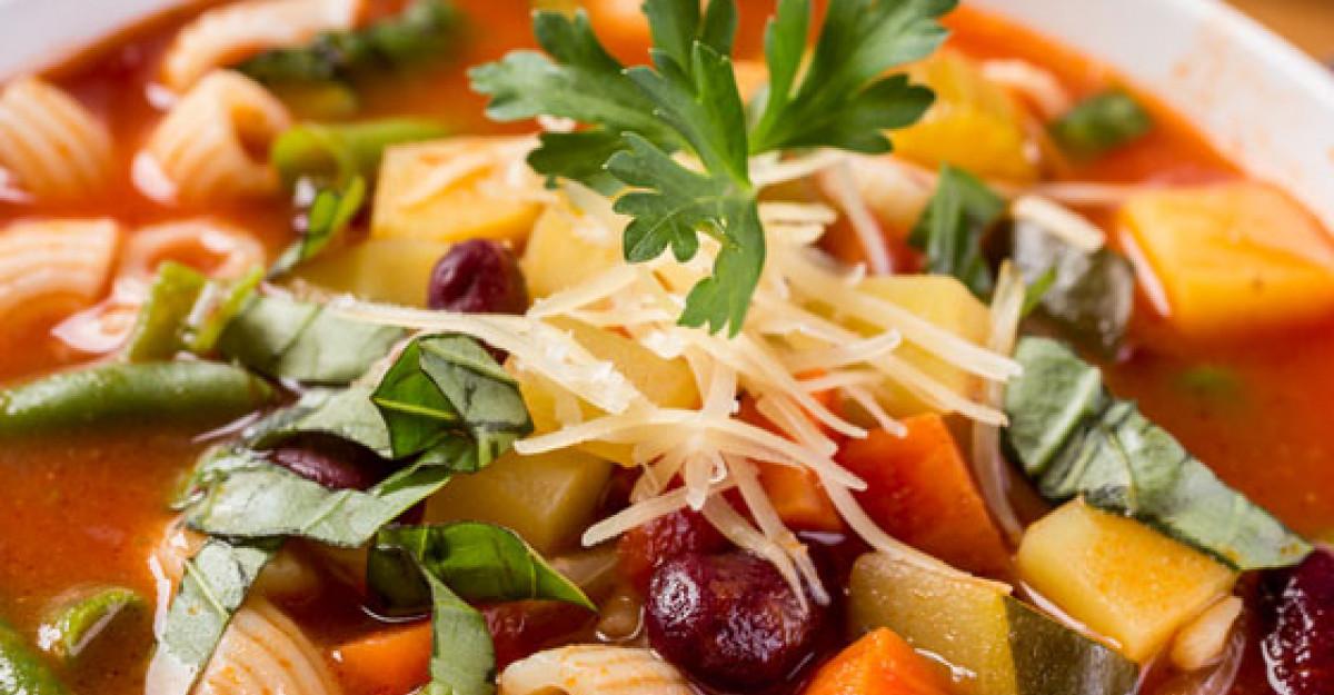 Dieta cu supe! 10 zile - 10 kg