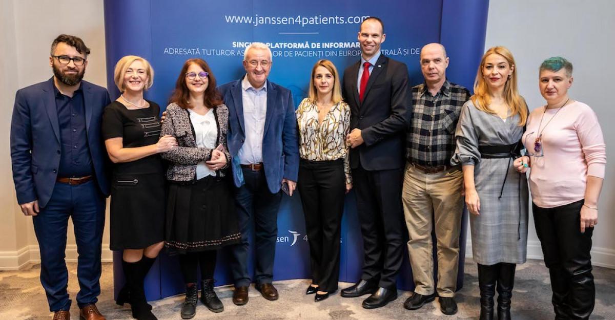 Janssen lansează prima platformă online dedicată asociațiilor de pacienți din România și Europa Centrală și de Est, Janssen4Pati