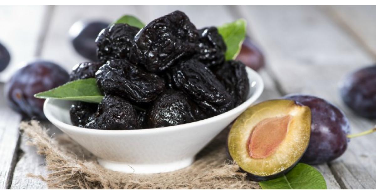 Secretele prunelor uscate: de ce e bine sa le mananci