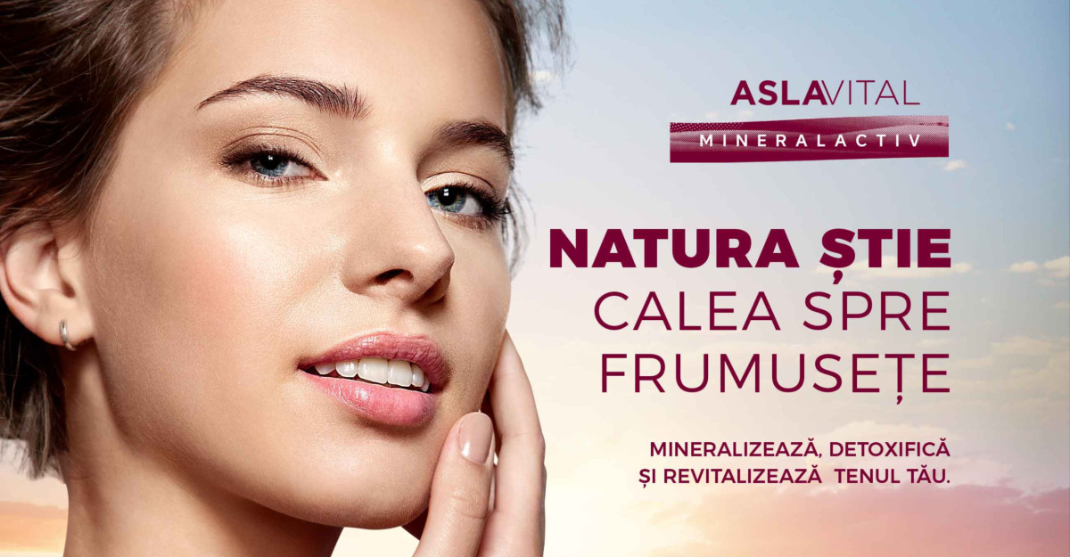 Farmec dezvoltă Aslavital, un brand unic pe piața locală, prin modernizarea gamei Aslavital Mineralactiv