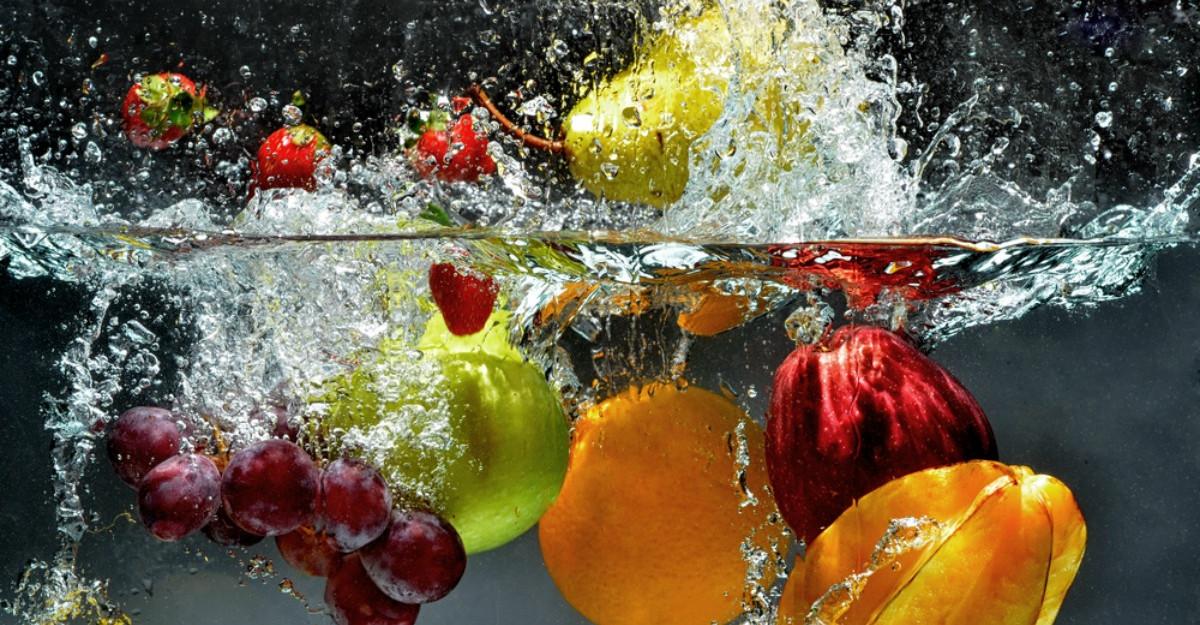 Cum spalam corect fructele și legumele?