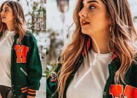 Geaca în stil College și jacheta bomber sunt sport, dar pot fi și elegante